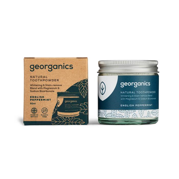 Natural Toothpowder | English Peppermint | Georganics