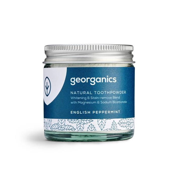 Natural Toothpowder | English Peppermint | Georganics