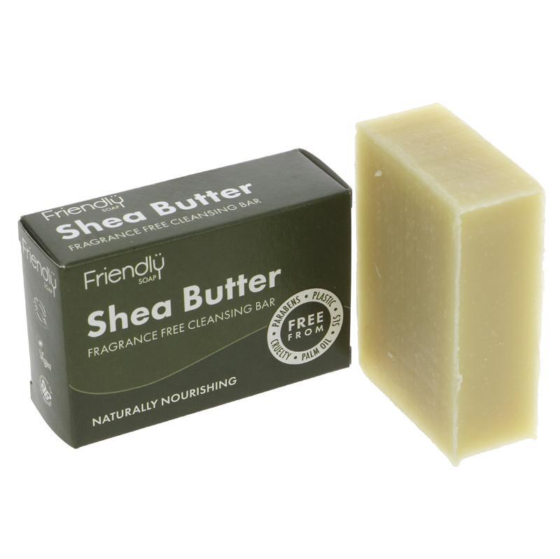 Shea Butter Cleansing Bar   Friendly
