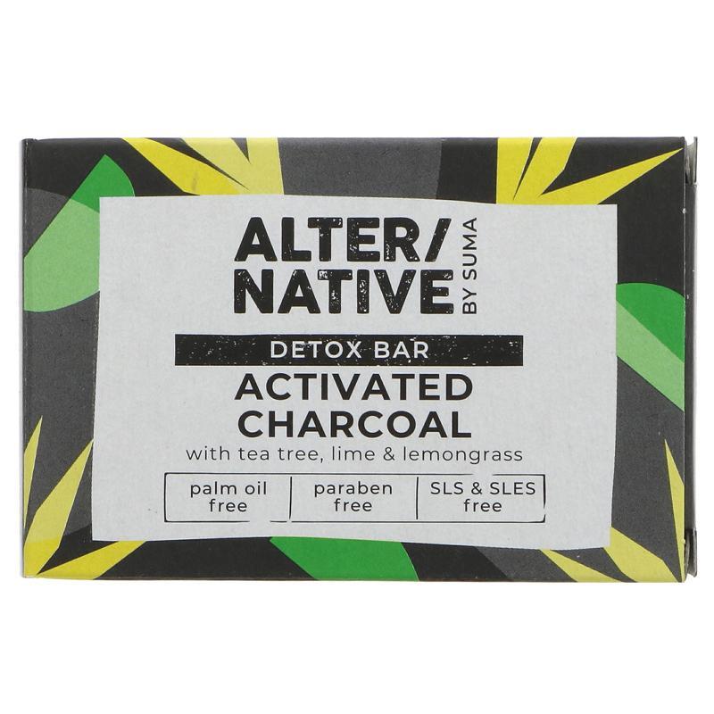 Detox Bar | Activated Charcoal | Alternative