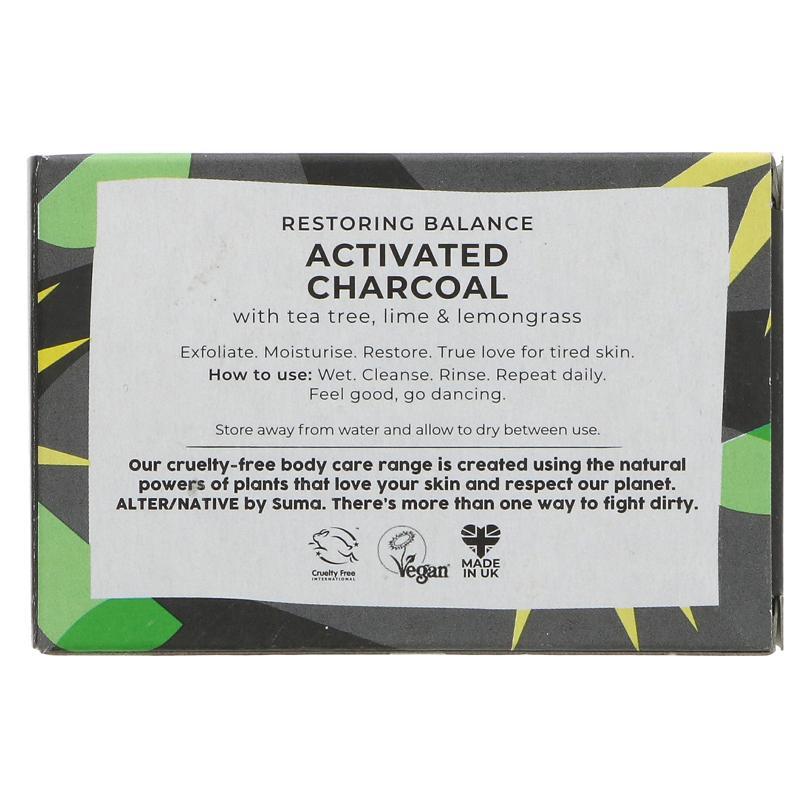 Detox Bar   Activated Charcoal   Alternative