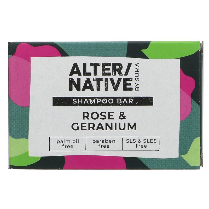Rose & Geranium | Shampoo Bar | Alter/native