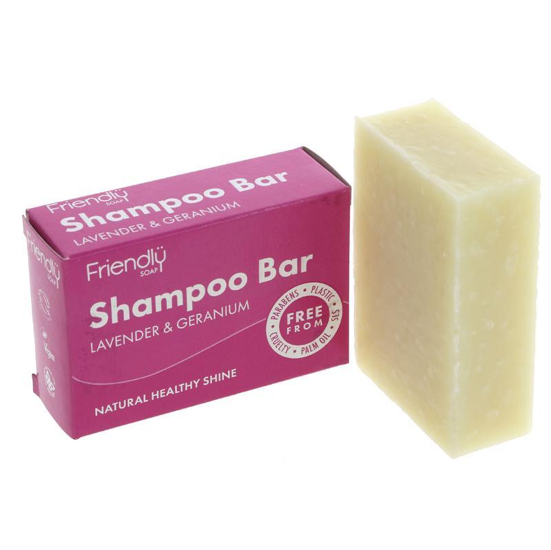 Lavender & Geranium | Shampoo Bar | Friendly