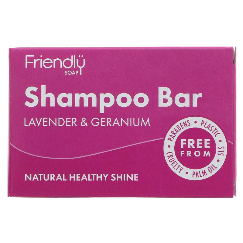 Lavender & Geranium | Shampoo Bar | Friendly