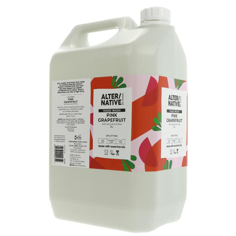 Grapefruit & Aloe Vera | Hand Wash | Bulk Buy 5L