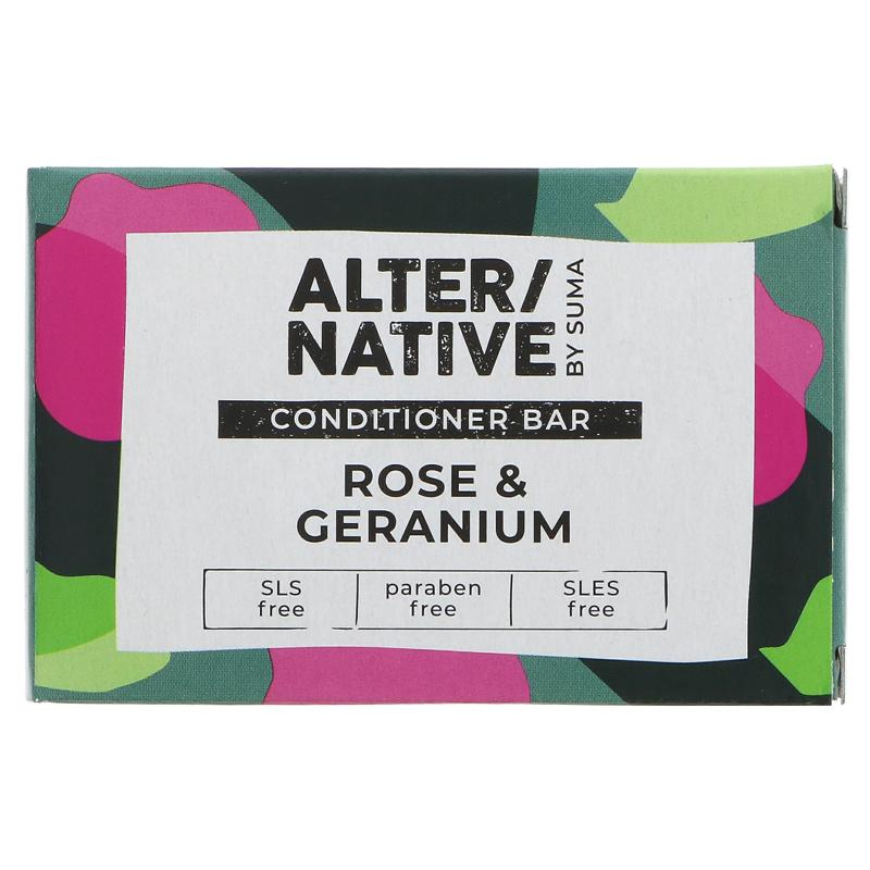 Rose & Geranium | Conditioner Bar | Alter/native