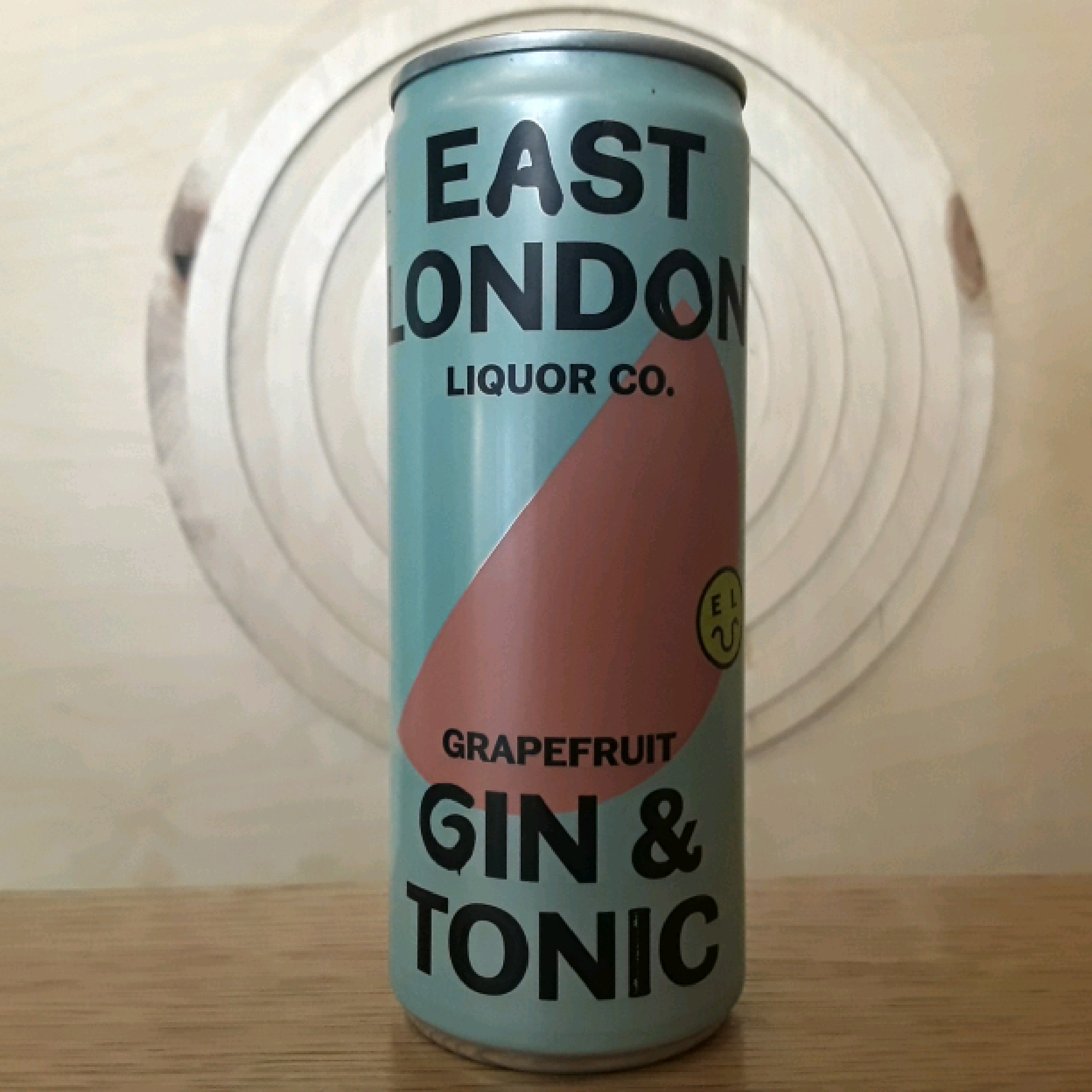 East London Liquor Co Grapefruit Gin & Tonic