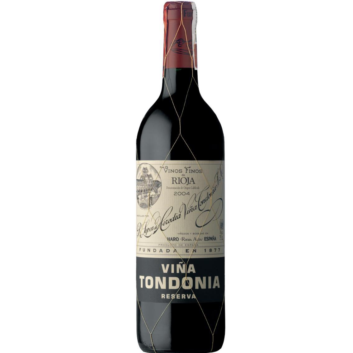 2009 Vina Tondonia Reserva Rioja - Lopez de Heredia