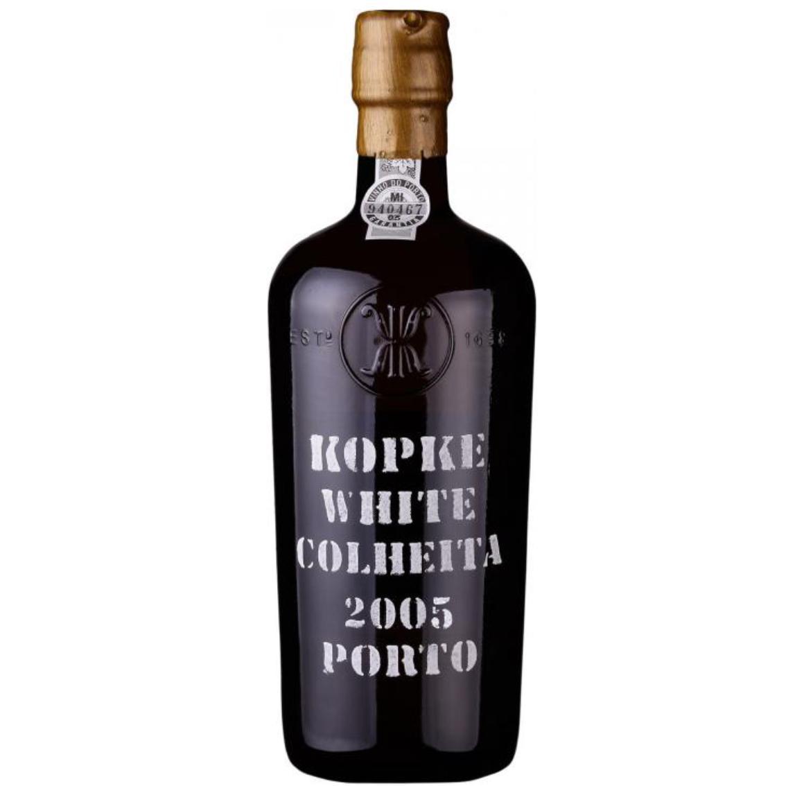 2005 White Colheita Port - Kopke