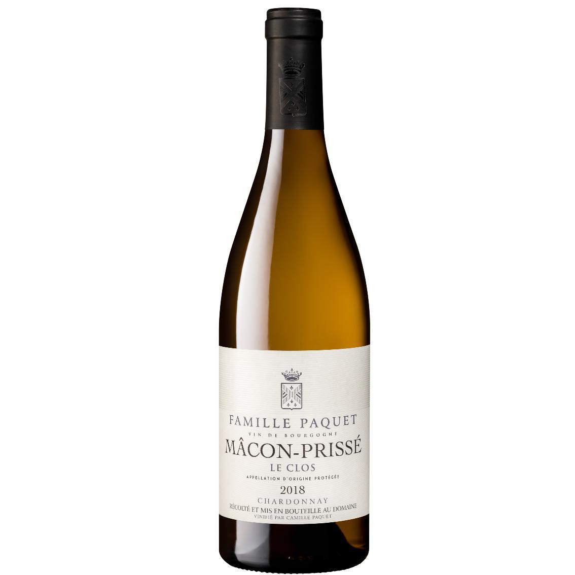 """2019 Macon-Prissé """"Le Clos"""" - Famille Paquet"""