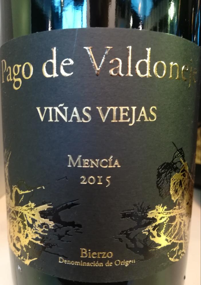 "2015 Pago de Valdoneje ""Viñas Viejas"" - Bierzo"