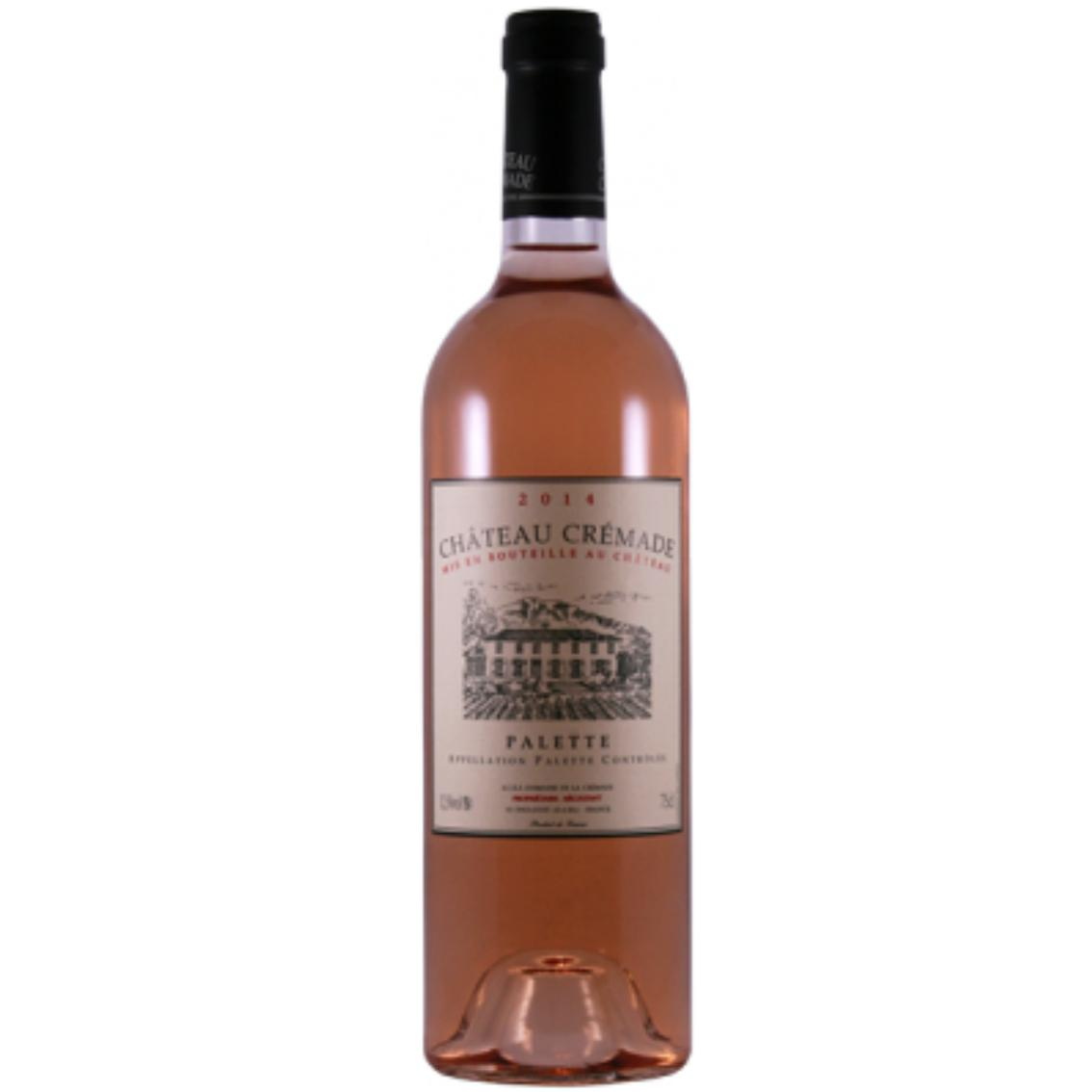 2016 Chateau Cremade Rosé - Palette