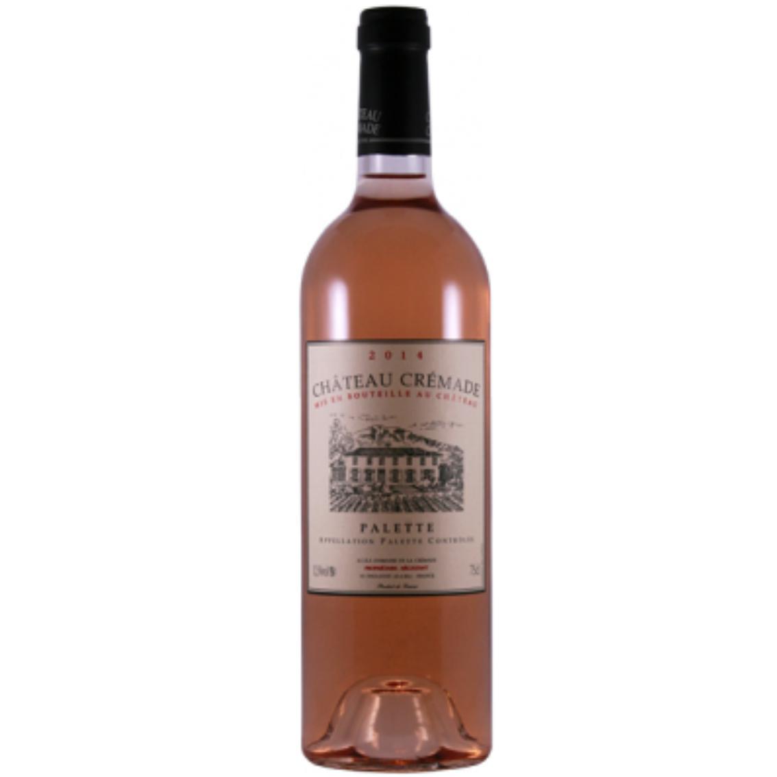 2018 Chateau Cremade Rosé - Palette