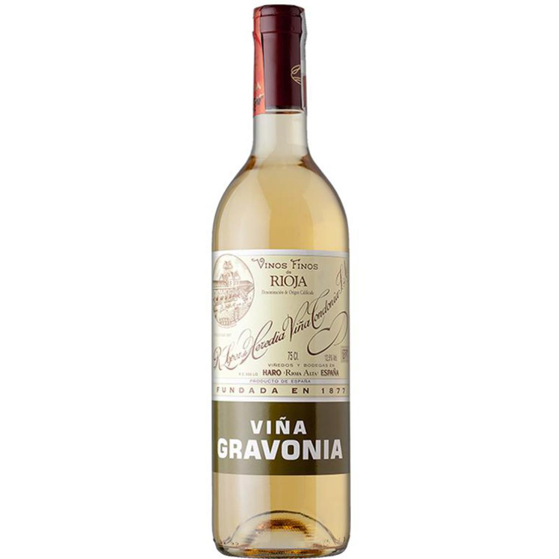 2010 Vina Gravonia Blanco Crianza Rioja - Lopez de Heredia