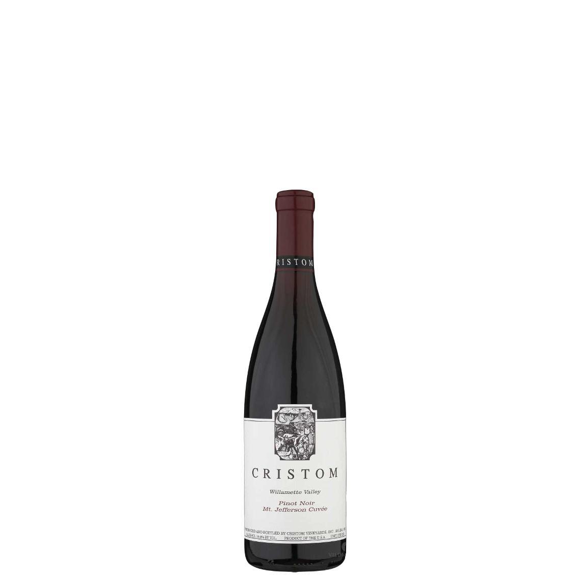 "1/2 fl. (37,5 cl.) 2018 Cristom Pinot Noir ""Mt. Jefferson Cuvee"" - Willamette Valley Oregon"