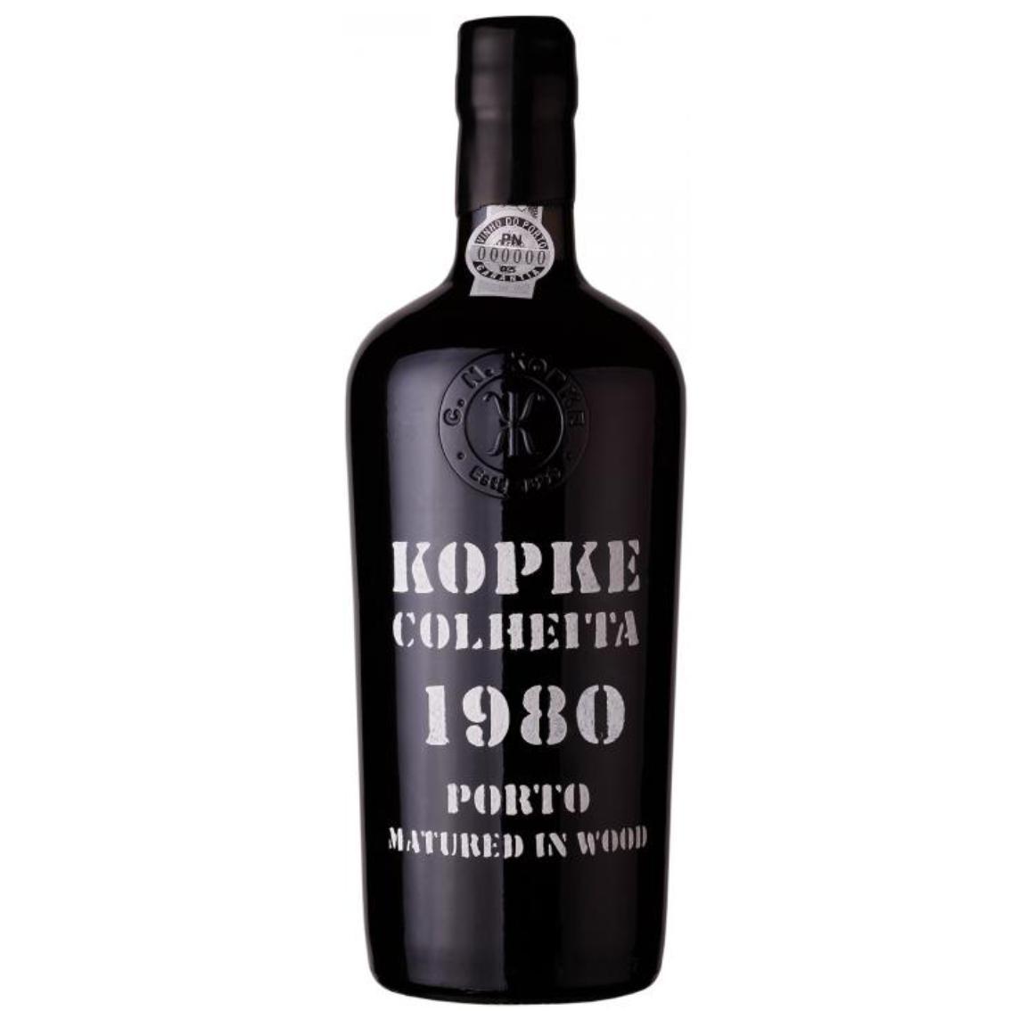 1980 Colheita Port - Kopke