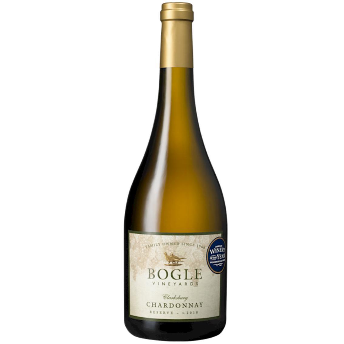 "2018 Reserve Chardonnay ""Clarksburg"" Bogle Vineyards - California"