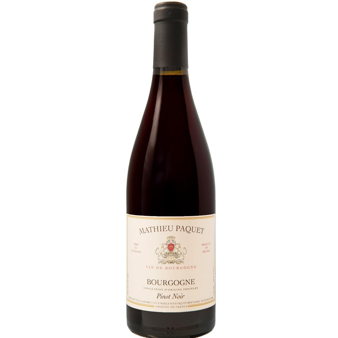 2018 Bourgogne Pinot Noir - Mathieu Paquet