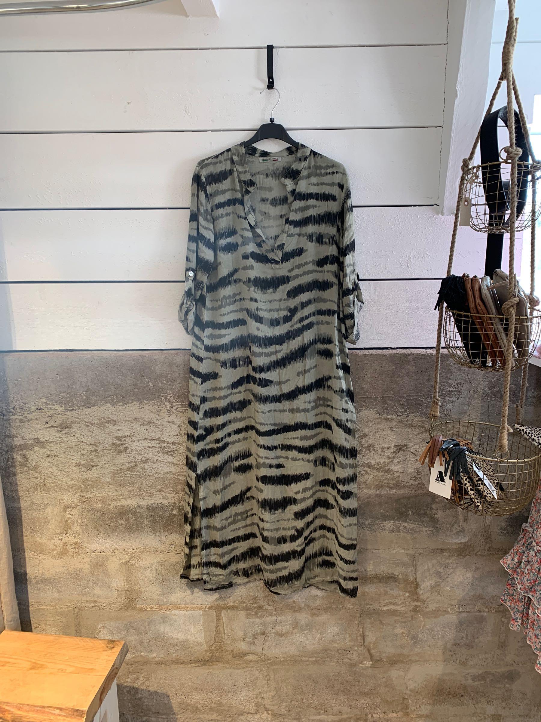 Klänning zebra
