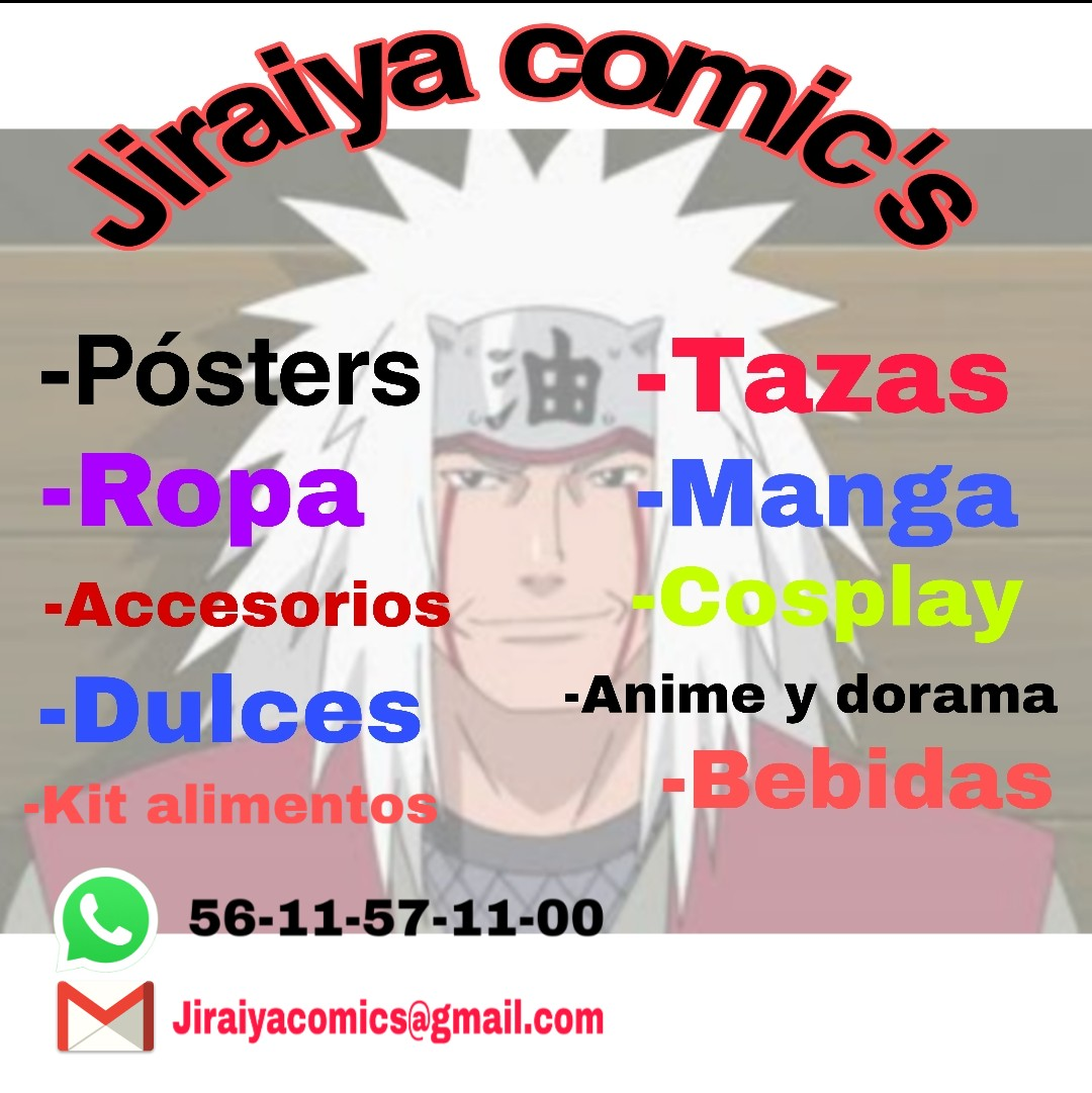 Jiraiya anime Shop