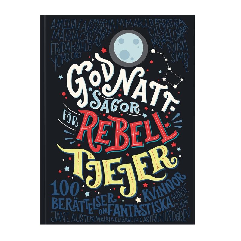 Bok - Godnattsagor för rebelltjejer 1