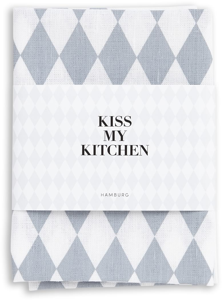 Kiss My Kitchen - Kökshandduk