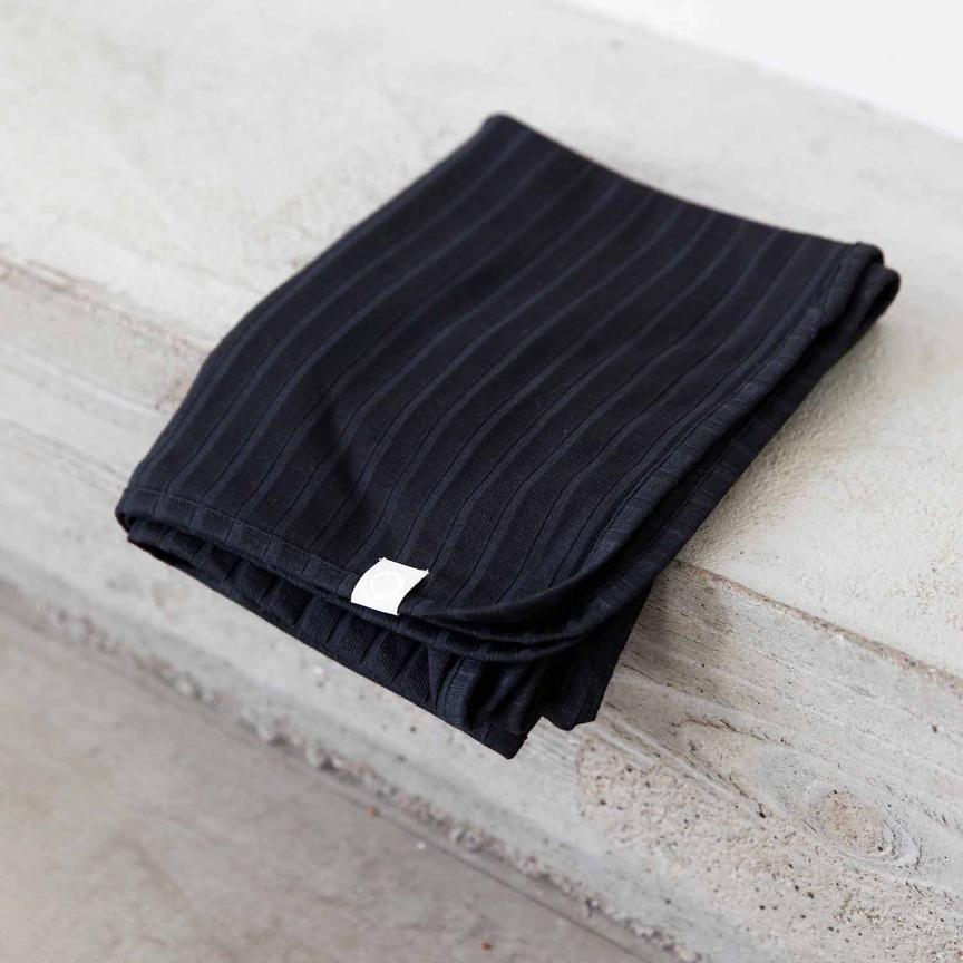 I Dig Denim - Bowie blanket organic black