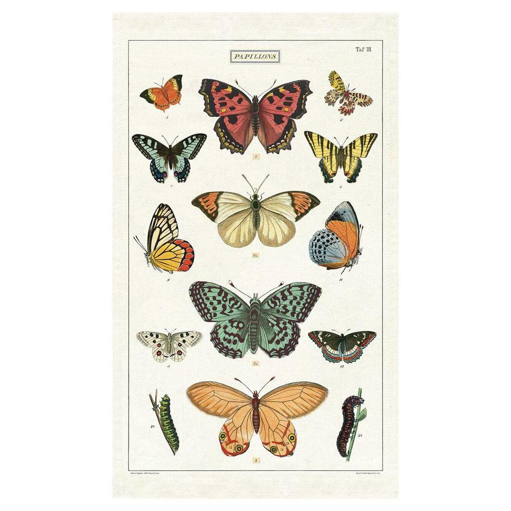 Cavallini Papers - Kökshandduk Fjärilar