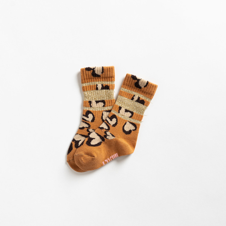 Lillster - Glittery Hearty Leo Tube Sock