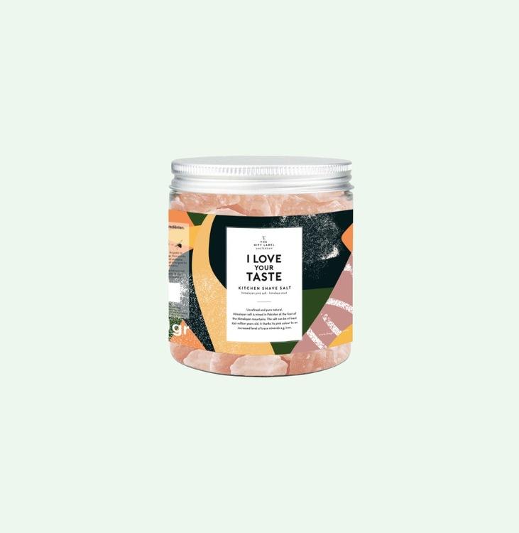 The Gift Label - Rivsalt I Love Your Taste