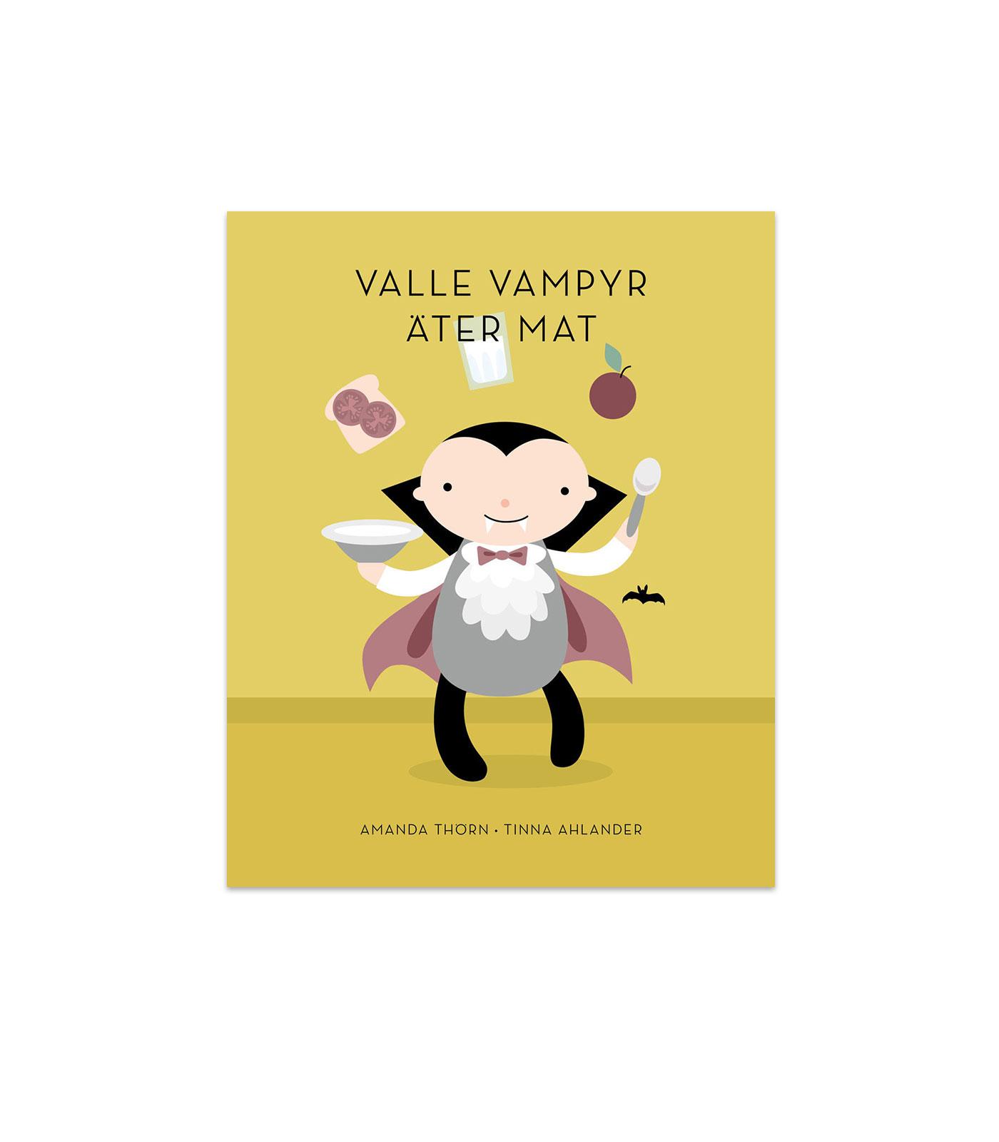 Bok - Valle Vampyr äter mat