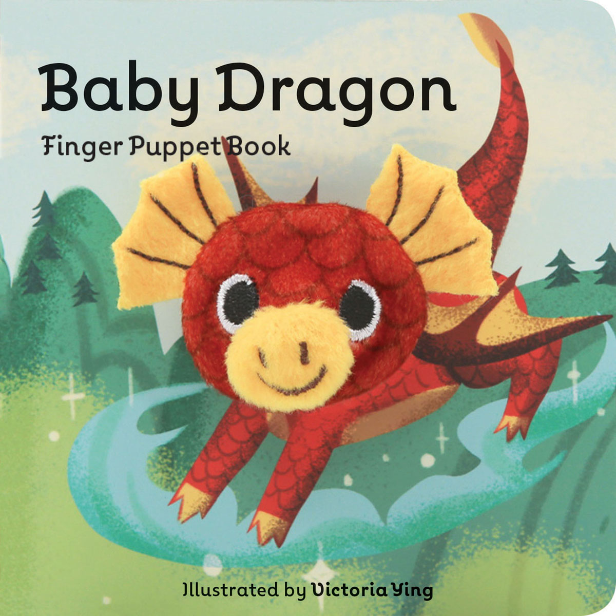 Victoria Ying - Baby Dragon: Finger Puppet Book