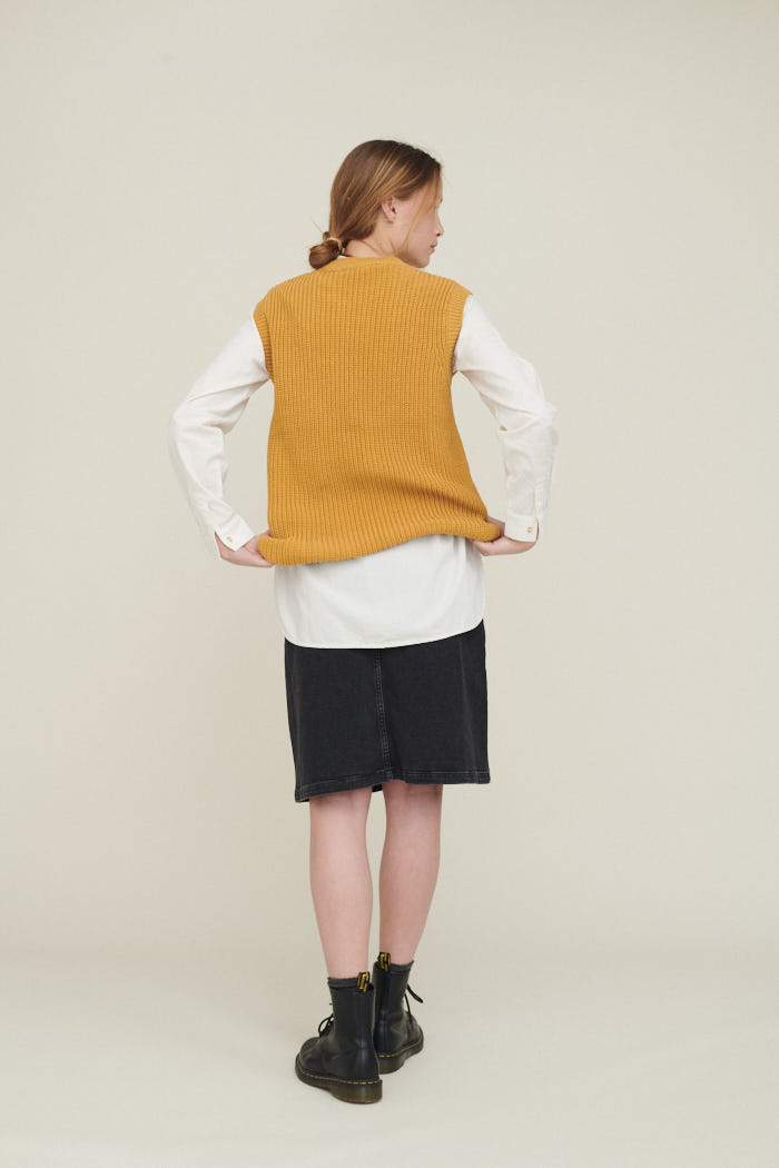 Basic Apparel - Sweety Vest Organic Honey Mustard