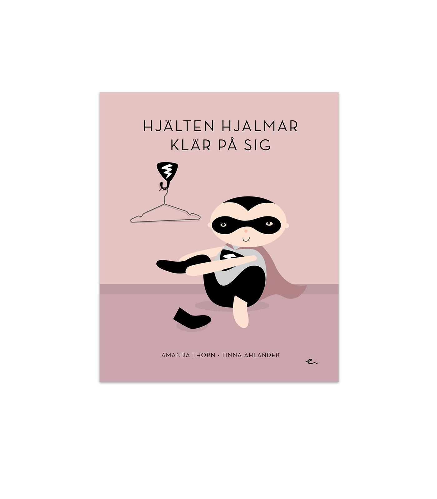 Bok - Hjälten Hjalmar klär på sig