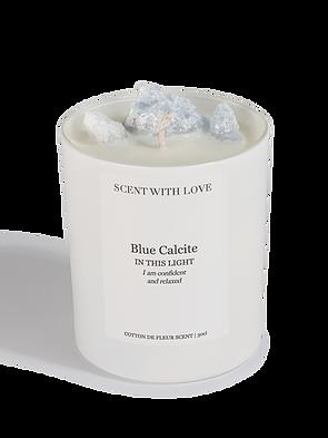 Scent With Love - Blå kalcit | Säker och avslappnad