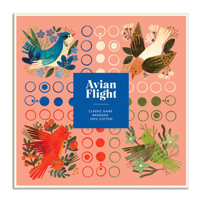 Galison - Avian Flight Classic Game Bandana