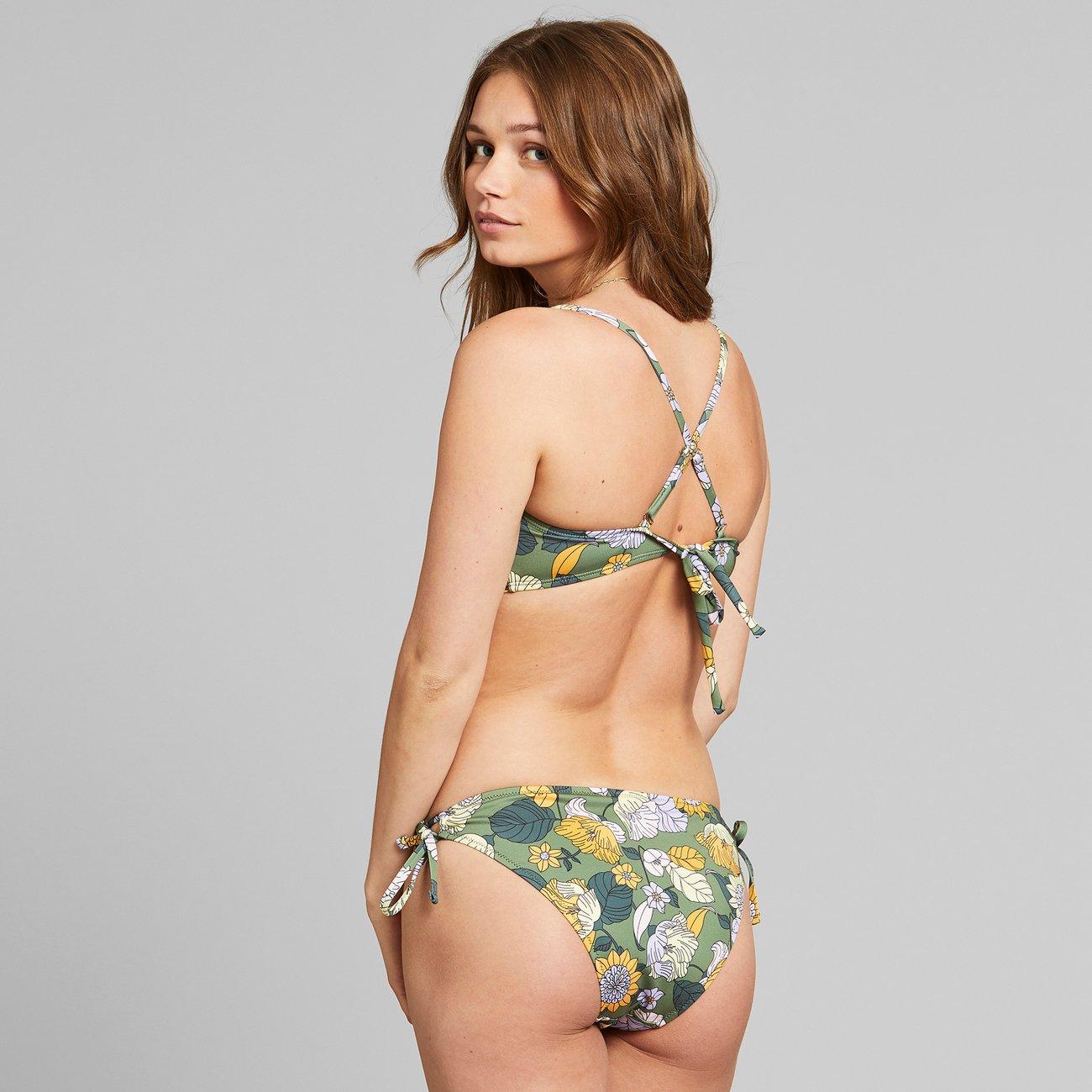 Dedicated - Bikini Underdel Odda Seventies Floral Green