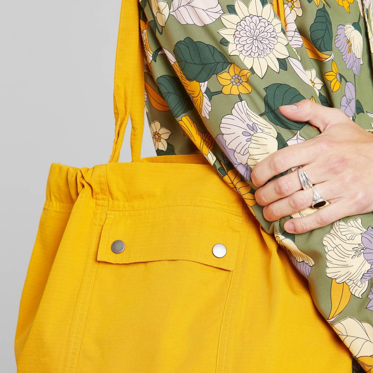Dedicated - Tote Bag Lycksele Golden Yellow