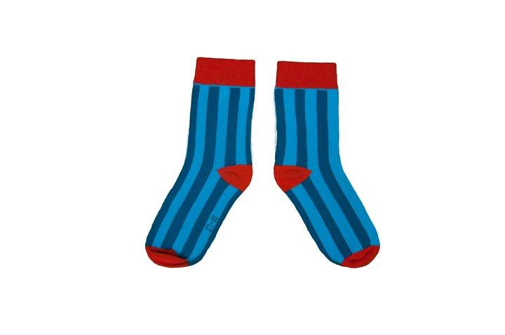 Moromini - Socks Blue/Light blue