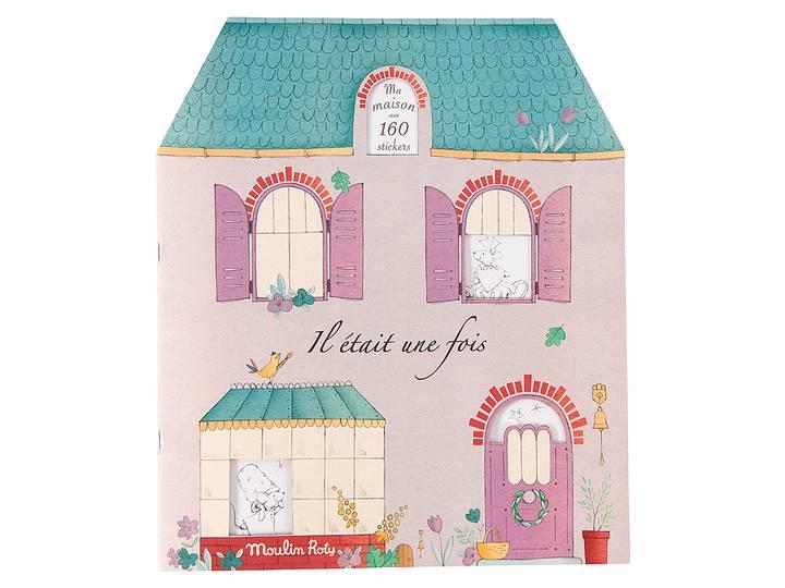 Moulin Roty - Bok 'Il Était Une Fois' med stickers