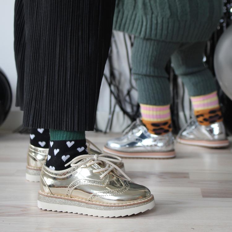 Lillster - Hearty green tube sock