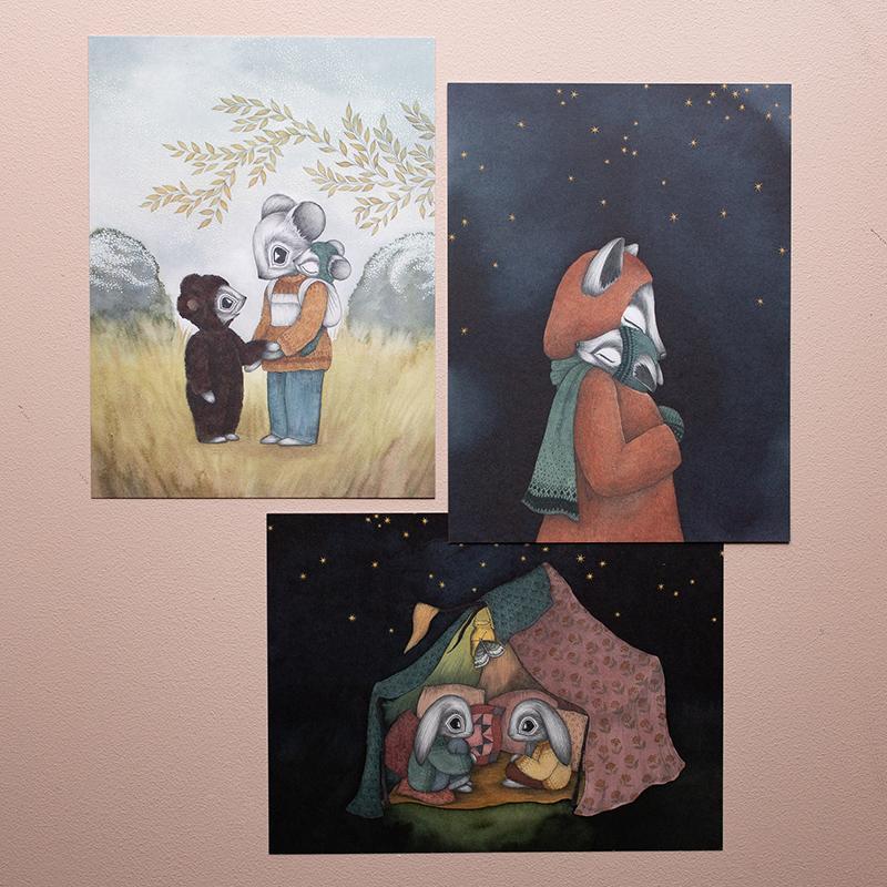 "Kajsa Wallin - Prints ""Seasonal Drift"""
