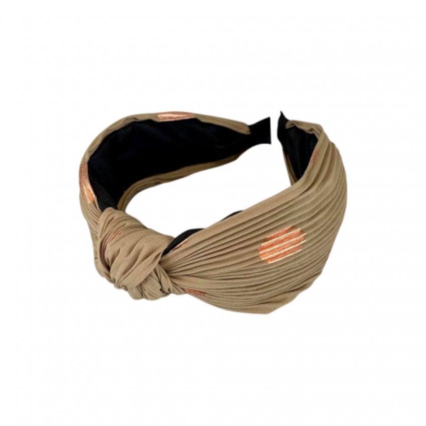 Black Colour - COBBER Dot Headband