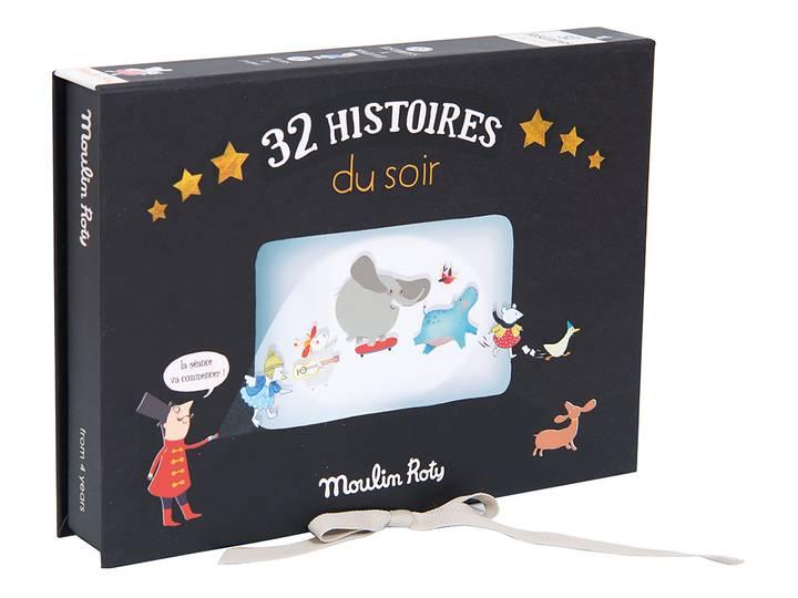 Moulin Roty - Ficklampa med berättelser 'Kit 3' Deluxe