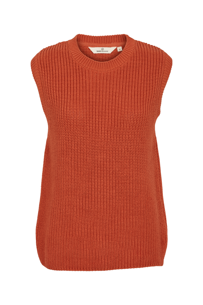 Basic Apparel - Sweety Vest Organic Ginger Spice