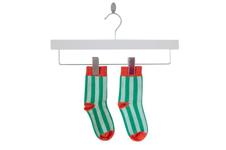 Moromini - Regular socks Green/mint/rust