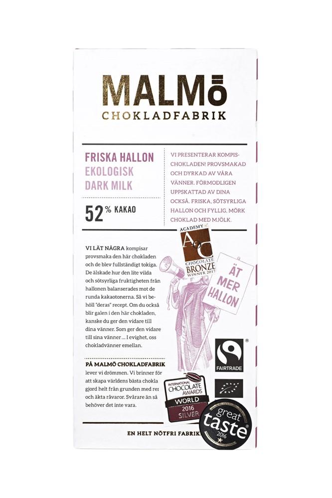 Malmö chokladfabrik - Friska hallon
