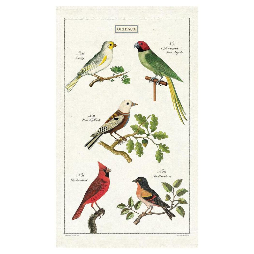Cavallini Papers - Kökshandduk Fåglar