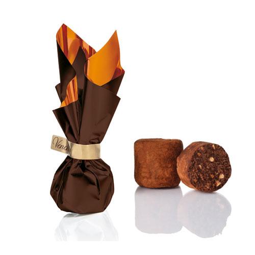 Venchi - Chokladtryffel med hasselnötskross