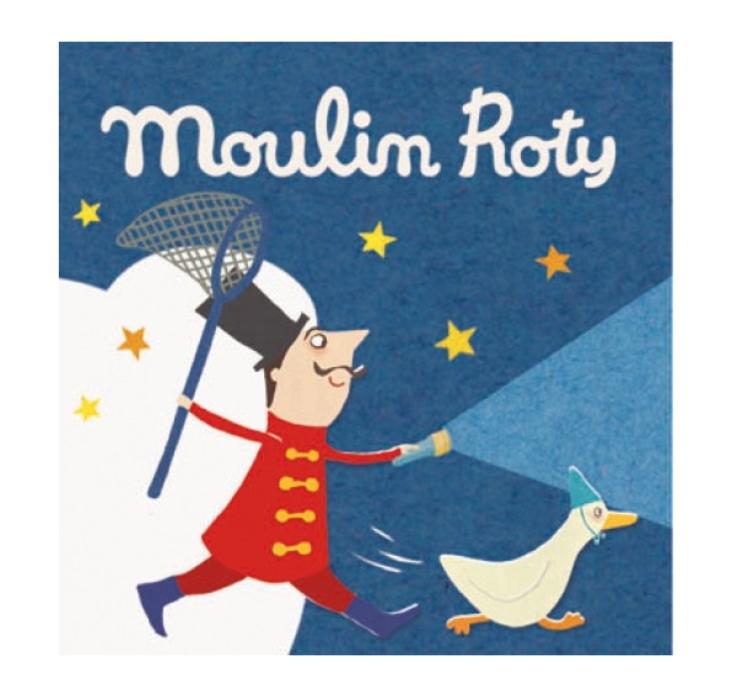 Moulin Roty - Bildkaruseller 3-pack